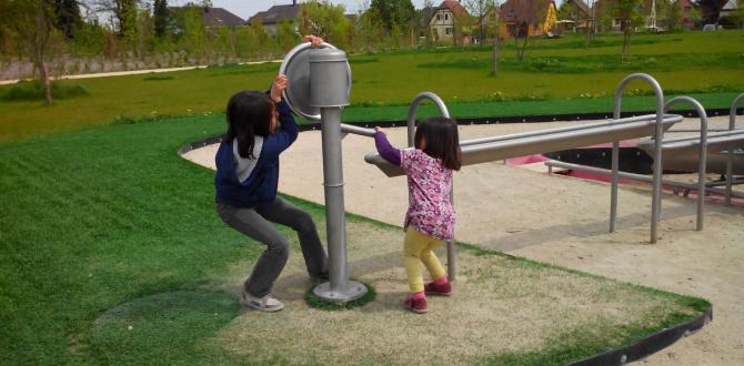 Jouer dans un parc