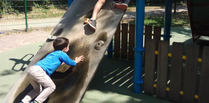 Au parc après l'école