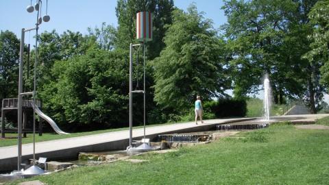 Jeux d\'eau du Jardin des deux rives (Kehl, Allemagne) - Alsace des ...