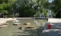Jeux d'eau du Jardin des deux rives