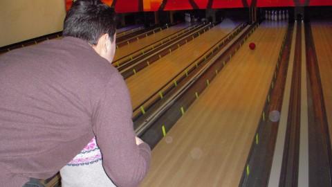 Quilles au bowling de l'Orangerie