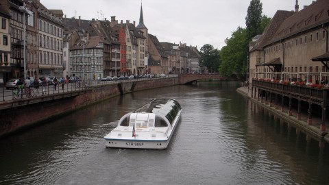 promenade bateau a strasbourg