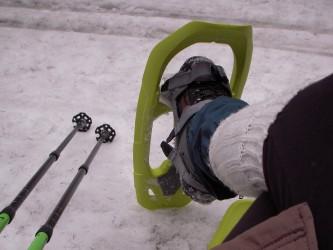 Raquettes à neige au Champ du feu
