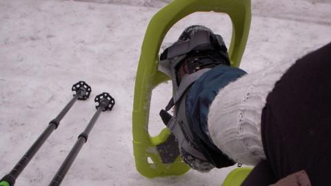Raquettes à neige au Lac Blanc
