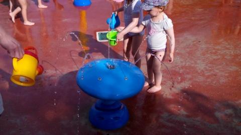 Jeux d'eau du Parc des oiseaux