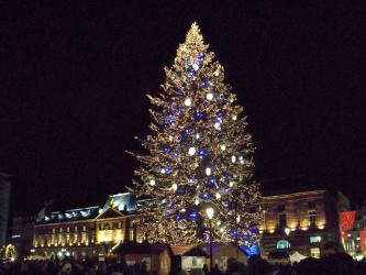 Patinoire de Noël de Strasbourg