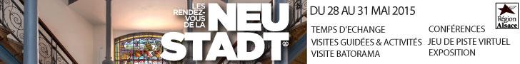 Rendez-vous de la Neustadt visite guidee et activites